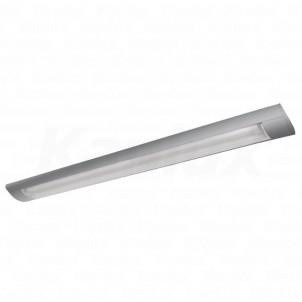 Zářivkové přisazené svítidlo OFRA TL-236A-SR 2x36W stříbrné EVG Kanlux