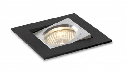 Zápustné svítidlo Aluminio Negro 3002 BPM 50W GU10
