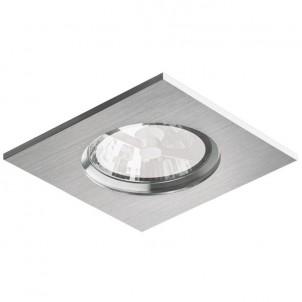 Zápustné svítidlo Aluminio Plata 3024 BPM 75W GU10