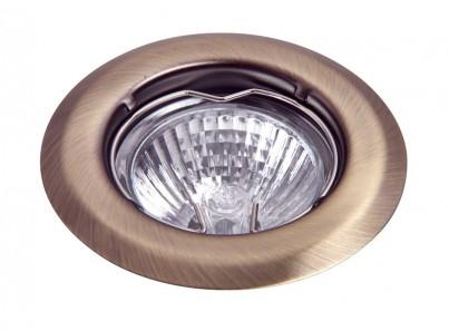 Zápustné  bodové svítidlo Spot light 1105 50W GU10 bronzové Rabalux