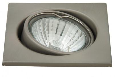 Zápustné  bodové svítidlo výklopné Spot light 1134 50W GU10 saténový chrom Rabalux