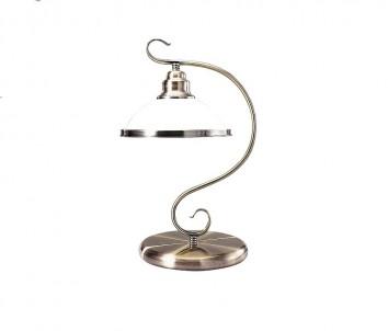 Stolní rustikální lampa ELISETT 2752 60W E27 bronzová Rabalux