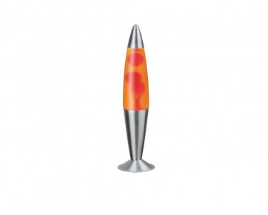 Stolní lávová lampa LOLLIPOP2 4107 25W E14 žluto-červená Rabalux