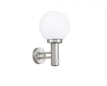 Venkovní nástěnné svítidlo Nisia 27126 se senzorem E27 60W Eglo