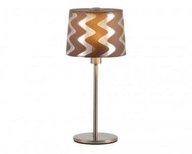 Stolní lampa TIVERI 3063002 skleněná 1x28W E14 Viokef