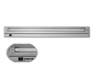 Přisazené výklopné svítidlo pod kuch.linku GANYS TL2016-21 stříbrné 21W T5 Ecoplanet