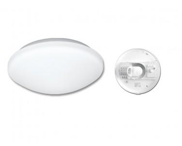 Stropní přisazené svítidlo VICTOR W131-BI 60W E27 s HF senzorem bílé Ecoplanet