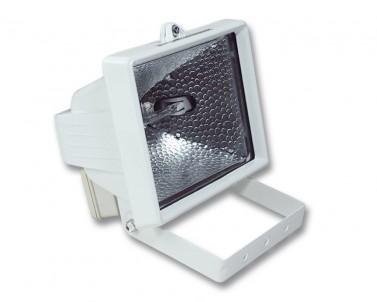 Venkovní halogenový reflektor REFLECTOR 500 R6107-BI 500W R7s bílý IP44 Ecoplanet