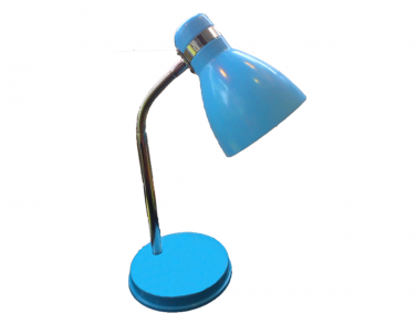 Stolní lampička FANDA 604.007 plech 40W E27 Nipeko - modrá