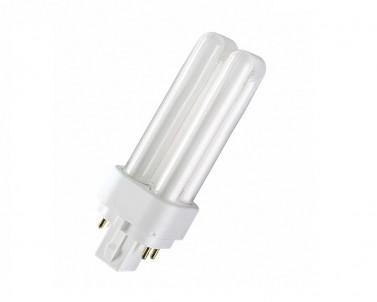 Kompaktní zářivka DULUX D/E 18W/840 G24q-2 studená bílá Osram
