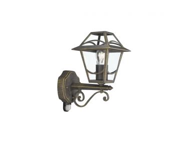 Venkovní nástěnné svítidlo BABYLON 15428/42/10 60W E27 se senzorem IP44 Massive