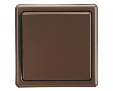 Klasický jednopólový spínač kolébkový 3553-01289H3 hnědý ABB