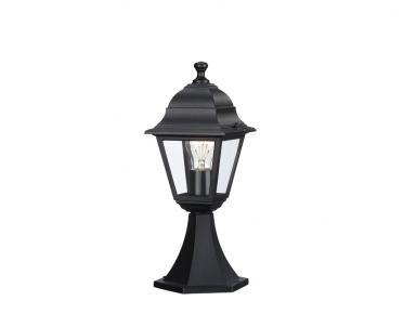 Venkovní sloupkové svítidlo LIMA 71427/01/30 60W E27 černé IP44 Massive