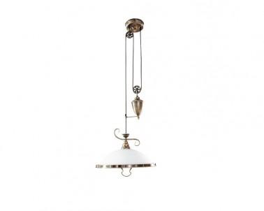 Závěsné rustikální svítidlo ELISETT 2756 1x60W E27 bronz Rabalux