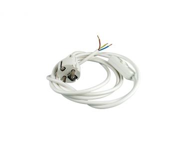 Flexo šnůra s vypínačem 3m kulatá H03VV-F 3x0,75 různé barvy Ezr