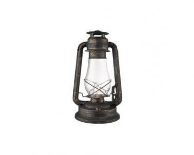 Stolní petrolejová lampa LANTERNS EU4843BG 40W E27 Searchlight