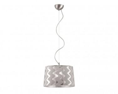 Závěsný lustr TIVERI 3061201 skleněný šedý 1x70W E27 Viokef