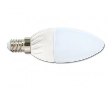LED svíčková žárovka 5W E14  LED5W-SV/E14/4100 studená bílá Ecoplanet