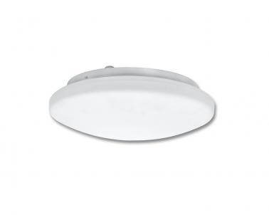 Stropní přisazené svítidlo VICTOR W141-BI 2x60W E27 s HF senzorem IP44 bílé Ecoplanet