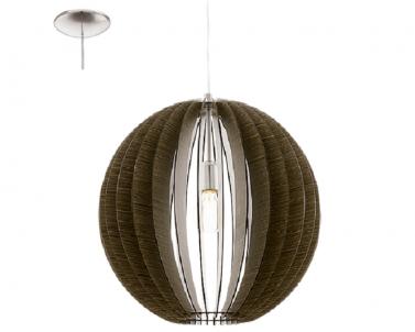 Závěsné stropní svítidlo COSSANO 94636 1x60W /E27 lustr EGLO