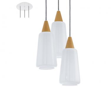 Závěsné stropní svítidlo PENTONE 93688 3x60W/E27 lustr EGLO