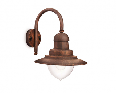 Venkovní nástěnné svítidlo RAINDROP 01652/06/16 60W E27 bronz IP44 Massive