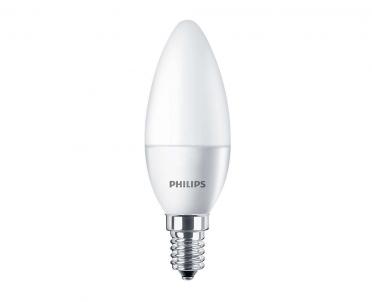 LED žárovka svíčka CorePro LEDCandle 5,5W E14 4000K studená bílá Philips