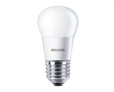 LED žárovka CorePro LEDluster 5,5W E27 2700K kapka teplá bílá Philips