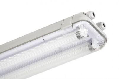 Prachotěsné zářivkové svítidlo CODAR 341359 RS 2x18W T8 LENA Lighting