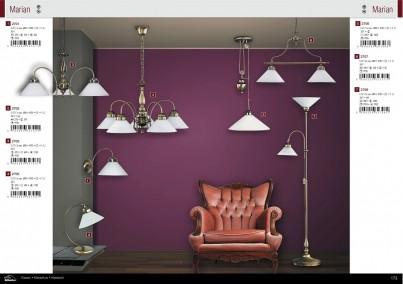 Stropní závěsné svítidlo MARIAN 2707 2x60W E27 bronz Rabalux - kolekce