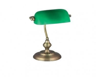 Stolní lampa BANK 4038 60W E27 bronz Rabalux