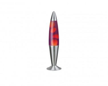 Stolní lávová lampa LOLLIPOP2 oranžovo-fialová Rabalux