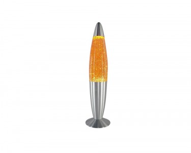 Stolní lávová lampa GLITTER MINI žlutá Rabalux