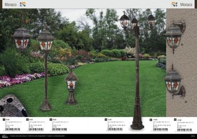 Venkovní sloupkové svítidlo MONACO 8185 60W E27 Rabalux - kolekce