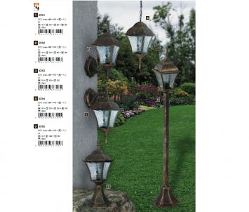 Venkovní sloupkové svítidlo TOSCANA 8393 60W E27 Rabalux - kolekce