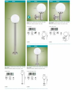 Venkovní nástěnné svítidlo Nisia 27126 se senzorem E27 60W Eglo - kolekce
