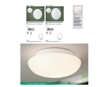 Nástěnné/stropní svítidlo BARI 1 EGLO 89679 E27 1x60W