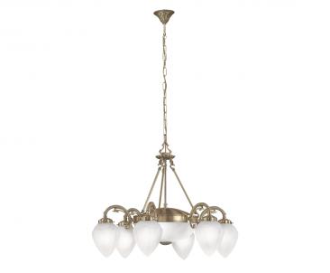 Závěsné stropní svítidlo IMPERIAL 82743 6x40W E14 + 2x60W E27 lustr Eglo