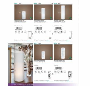 Stolní lampa GEO 81827 60W E14 Eglo - kolekce