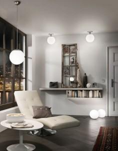 Závěsné stropní svítidlo Rondo 85263 60W E27 pr.30cm Eglo - použití