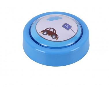 Přenosné LED dětské svítidlo SWEET PUSH LIGHT 4708 0,3W modré Rabalux