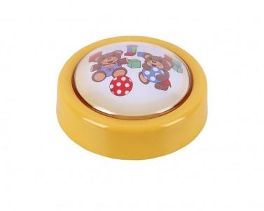 Přenosné LED dětské svítidlo SWEET PUSH LIGHT 4710 0,3W žluté  Rabalux
