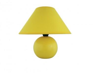 Stolní keramická lampa ARIEL 4905 40W E14 žlutá Rabalux