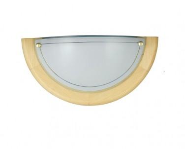 Nástěnné svítidlo UFO 5401 1x60W E27 světlé dřevo Rabalux