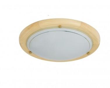 Stropní přisazené svítidlo UFO 5421 2x60W E27 světlé dřevo Rabalux