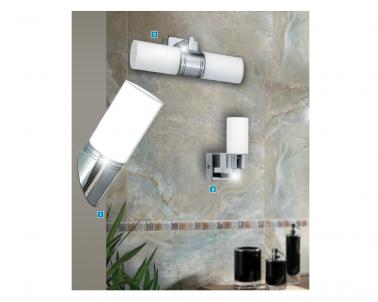 Koupelnové nástěnné svítidlo LEXO 5828 40W G9 IP44 Rabalux - kolekce