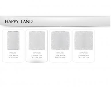 Nástěnné dětské svítidlo HAPPY LAND 1 1125 1x60W E14 vzor Nowodvorski - kolekce