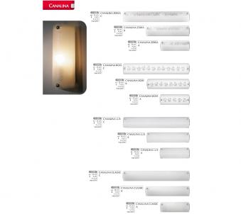 Nástěnné svítidlo  CANALINA CLASSIC C 1339 3x60W E14 Nowodvorski - kolekce