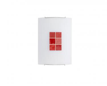 Nástěnné svítidlo KUBIK 3 red 1601 1x100W E27 dekor Nowodvorski