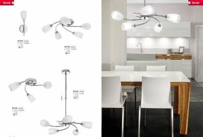 Závěsné stropní svítidlo ISMAR V zwis 4643 5x40W G9 Nowodvorski - kolekce